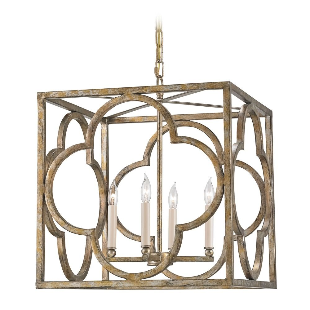 Currey And Company Manuscript Pendant: Currey And Company Lighting Cosette Peppercorn Gold