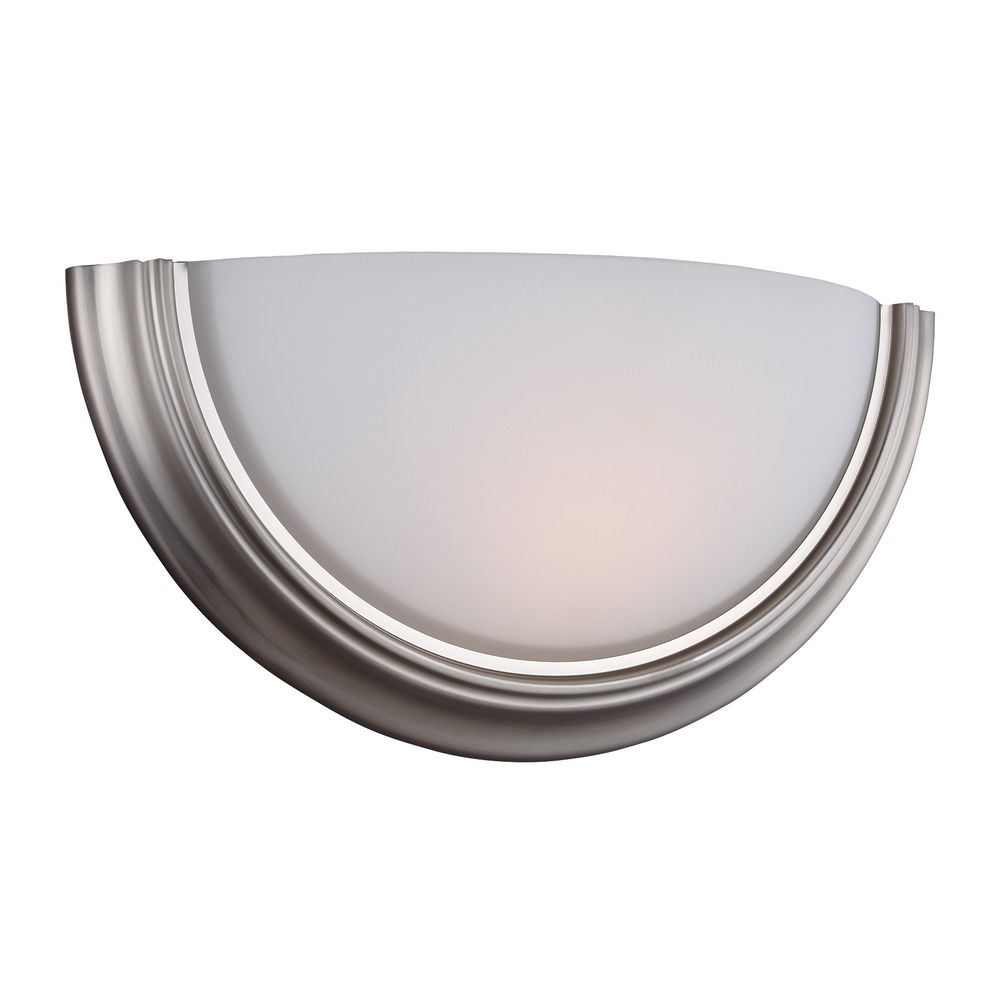 Sea Gull Ada Wall Sconces Brushed Nickel LED Sconce 413591S-962 Destination Lighting