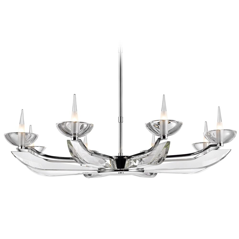 Golden Lighting Nan Chrome Chandelier Cnine Eight Ch Destination Lighting