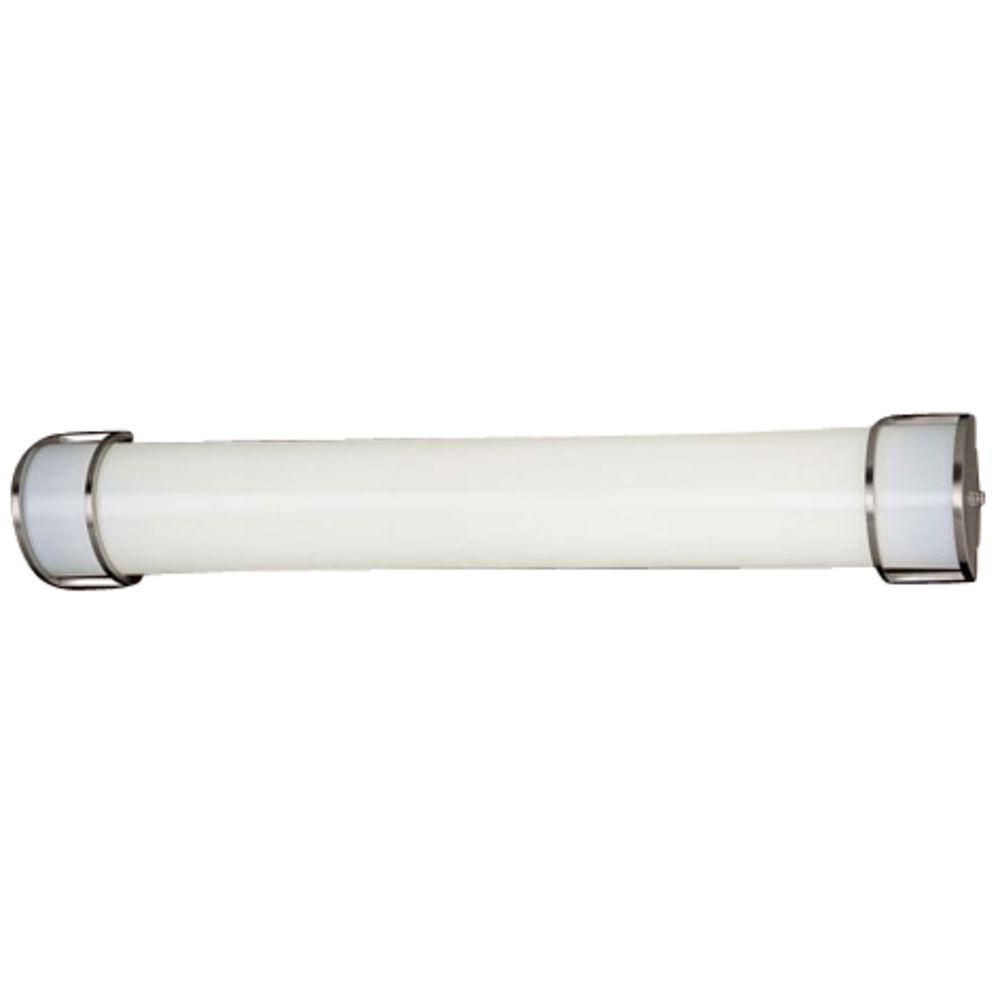 Energy efficient brushed nickel bathroom light vertical or product image aloadofball Image collections