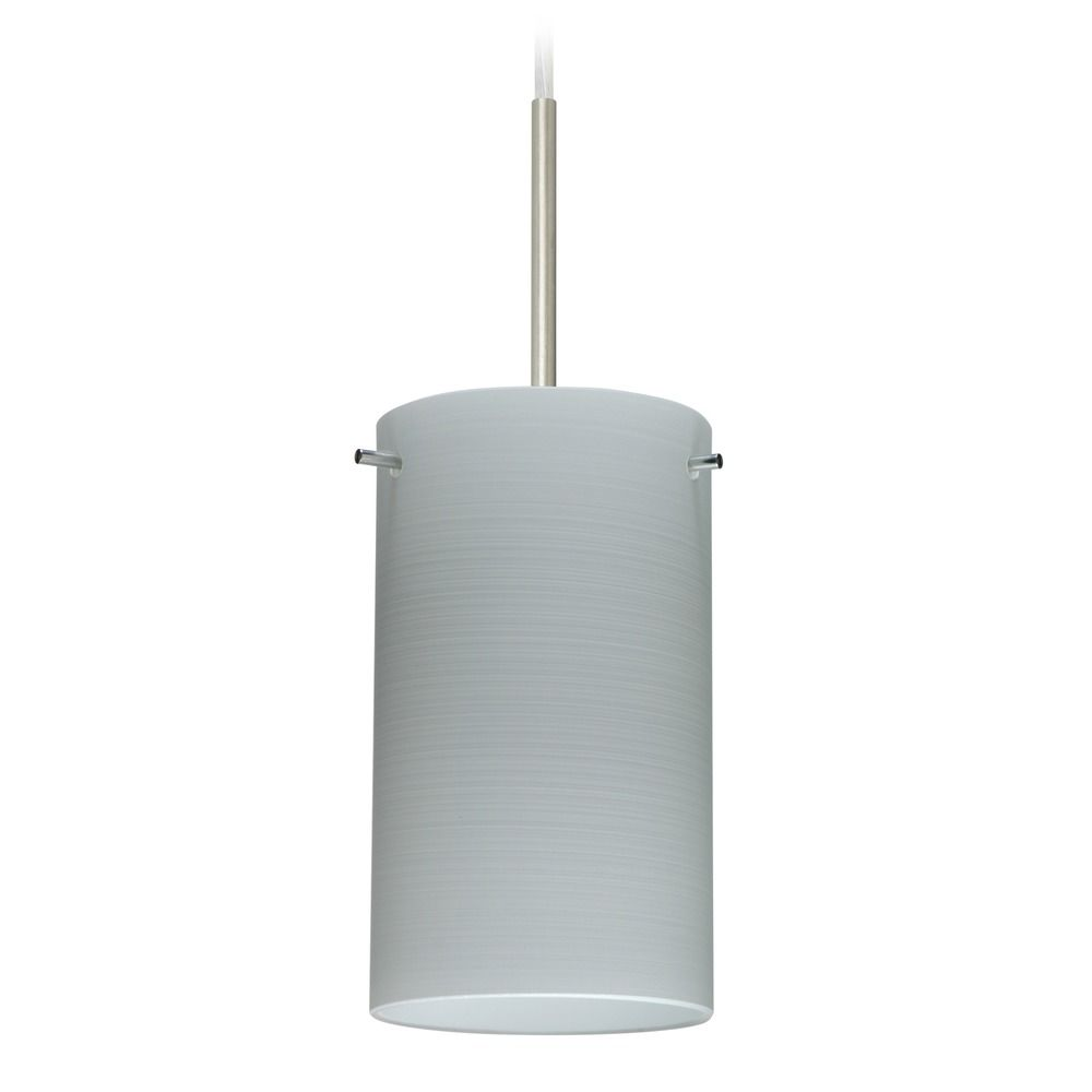 besa lighting besa lighting stilo satin nickel mini pendant light with