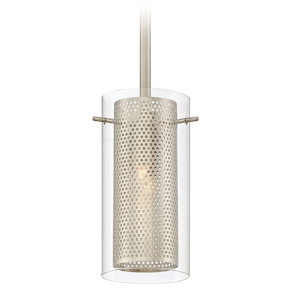 Quoizel Lighting Quoizel Piccolo Pendant Brushed Nickel