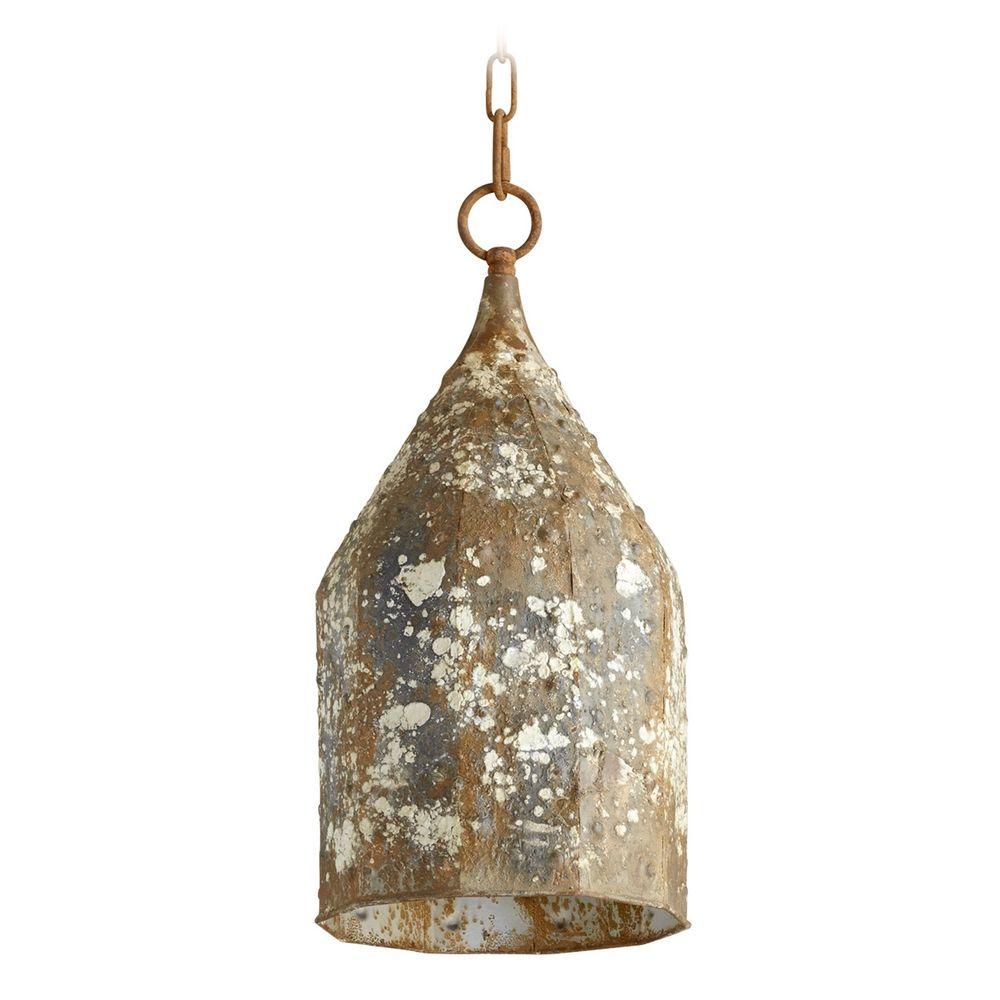 cyan design collier rustic mini pendant light with bowl dome shade 06258 destination lighting