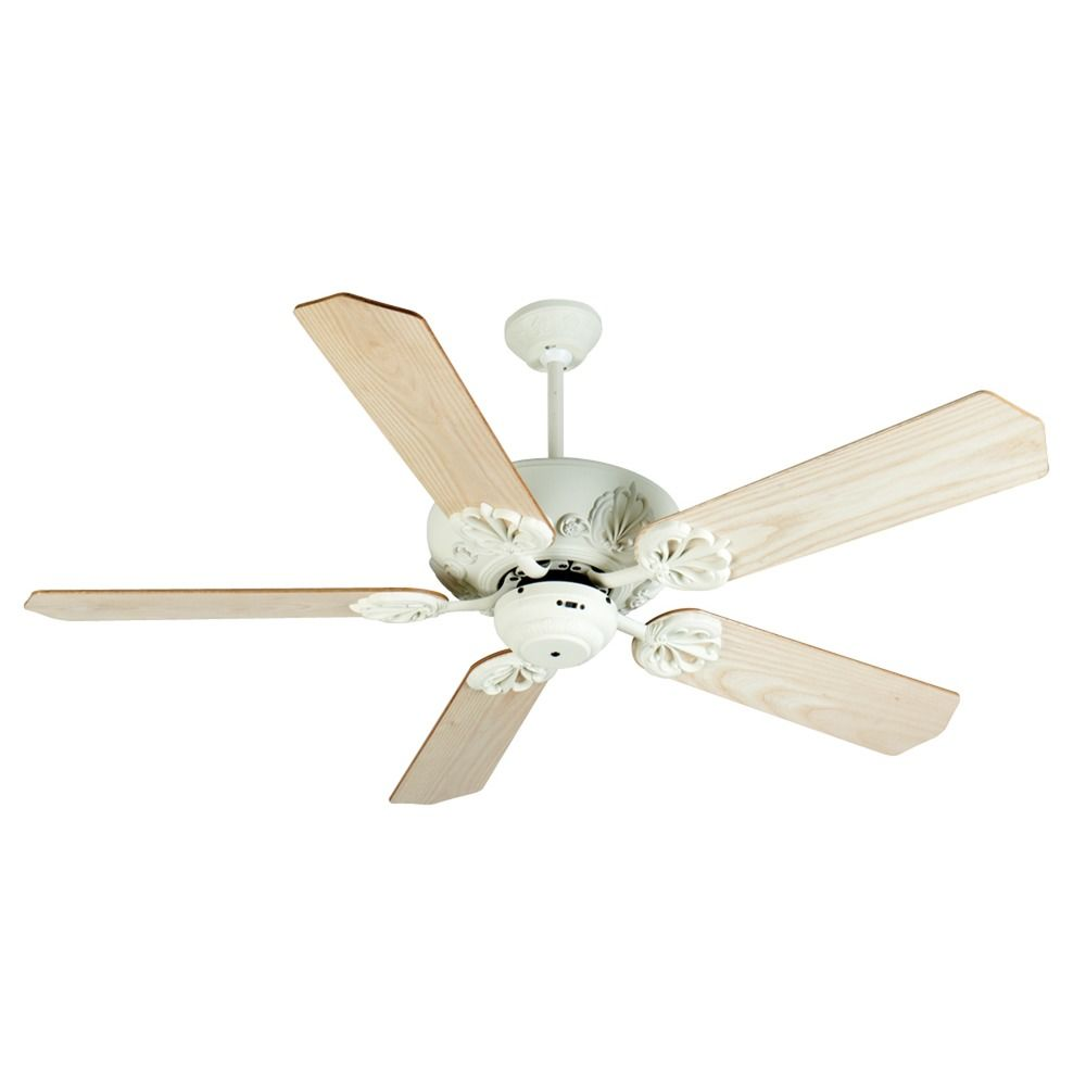 Craftmade Lighting Cordova Antique White Ceiling Fan Without Light At Destination Lighting