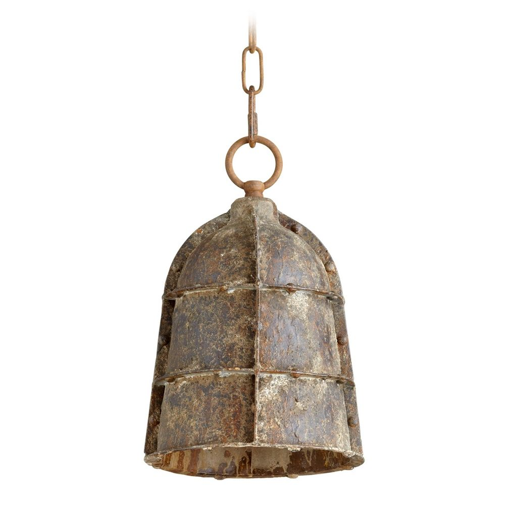 Cyan Design Rusto Rustic Mini-Pendant Light With Bowl