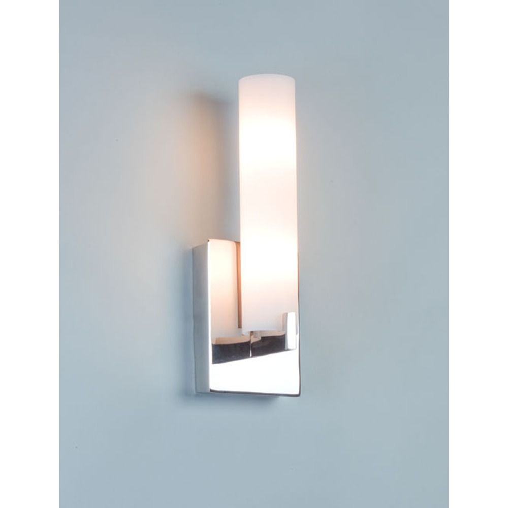 illuminating experiences elf  led polished nickel sconce  elf  - illuminating experiences elf  led polished nickel sconce alt