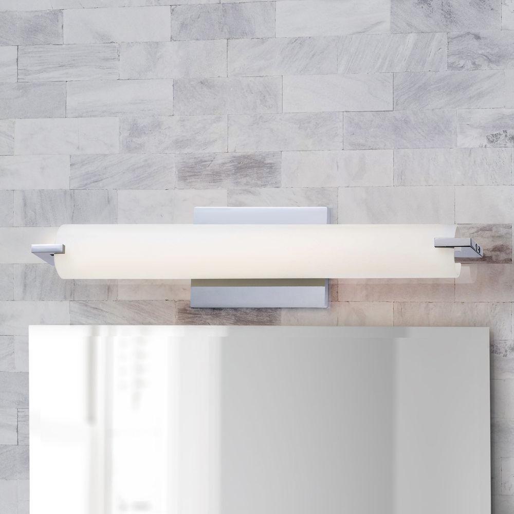 Chrome Led Bathroom Light
