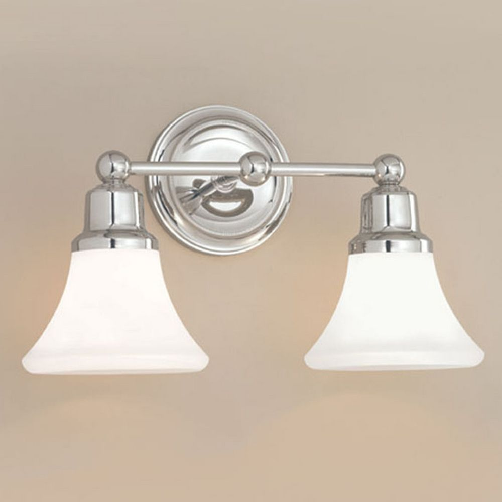 Norwell Lighting Elizabeth Polished Nickel Bathroom Light 8952 Pn Fl Destination Lighting