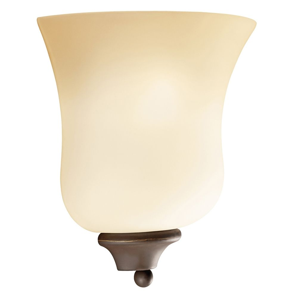 Wall Sconces Bronze Finish : Kichler Sconce Wall Light in Olde Bronze Finish 6086OZ Destination Lighting