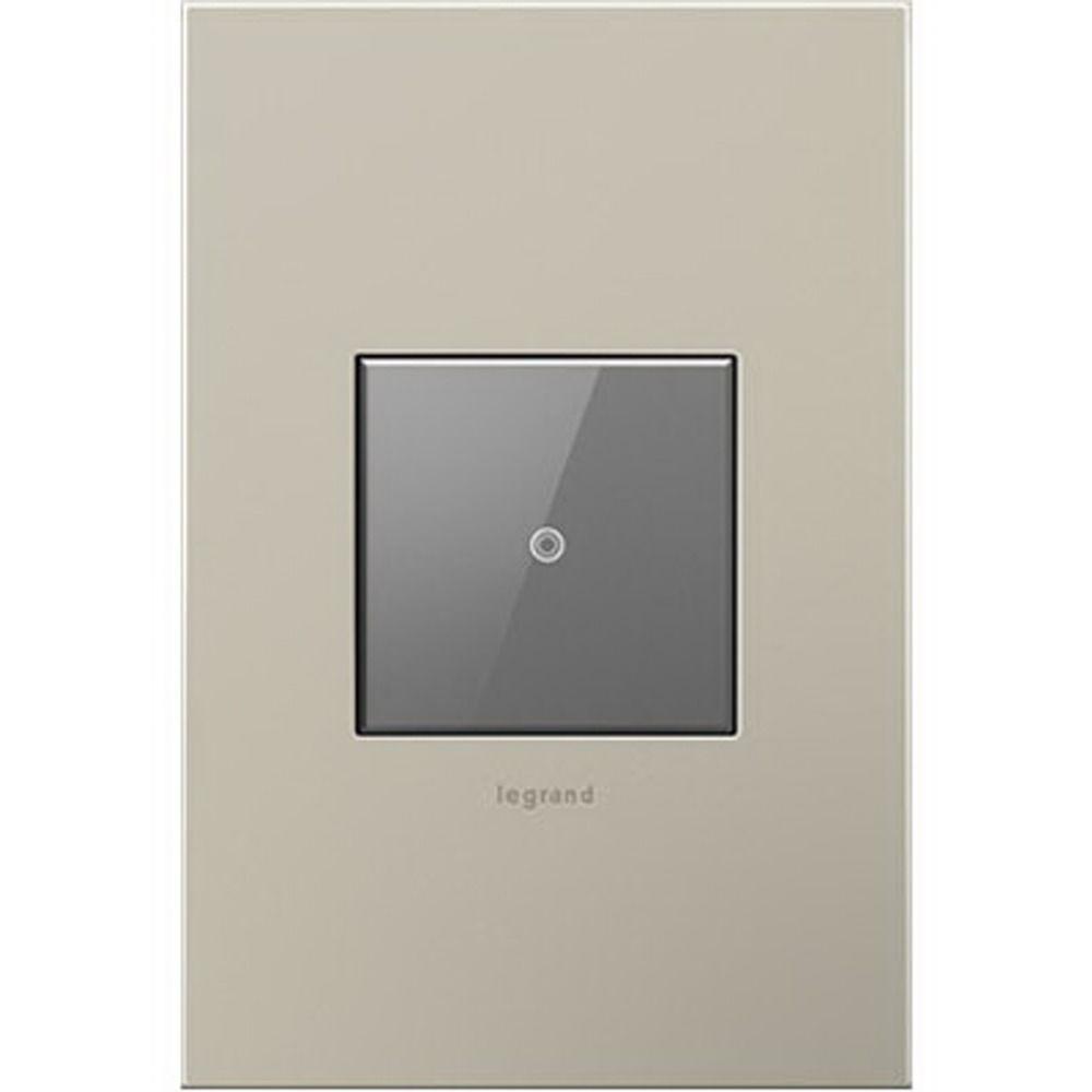 Legrand Adorne ASTH1532M2 Touch Wall Light Switch - Three-Way ...