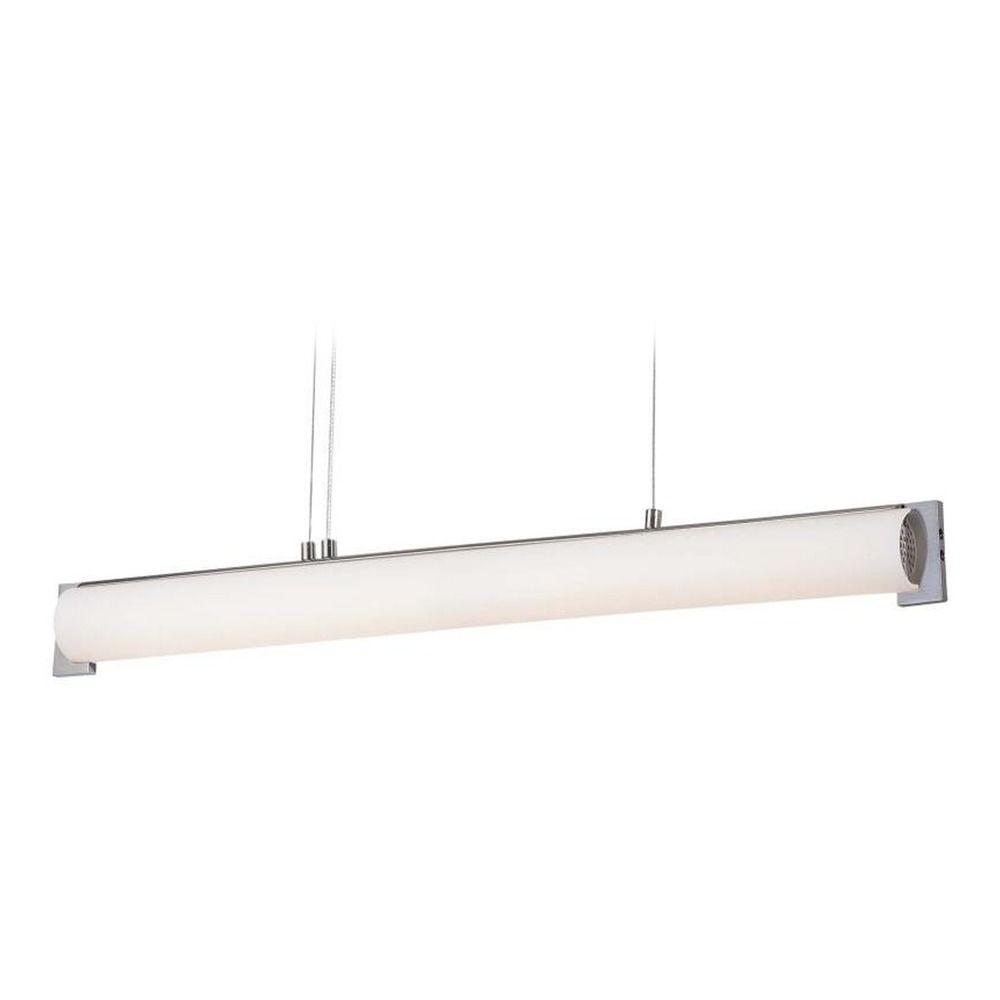 minka brushed nickel led island light p1151 084 l destination lighting