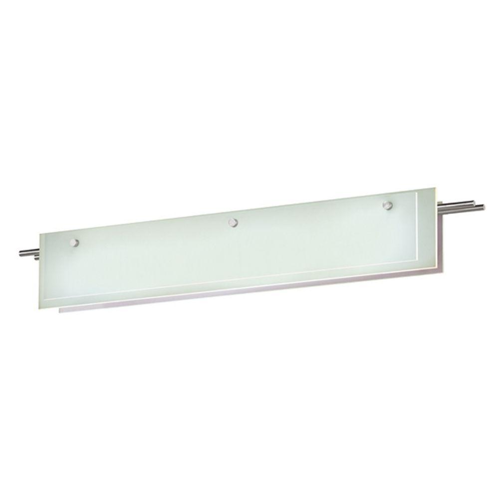 Sonneman lighting suspended satin nickel led bathroom for Sonneman lighting