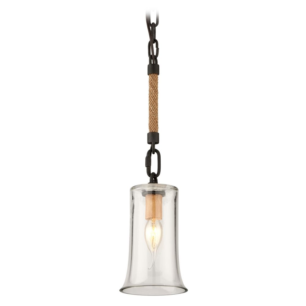 Mini Pendant Light With Clear Glass F3622 Destination