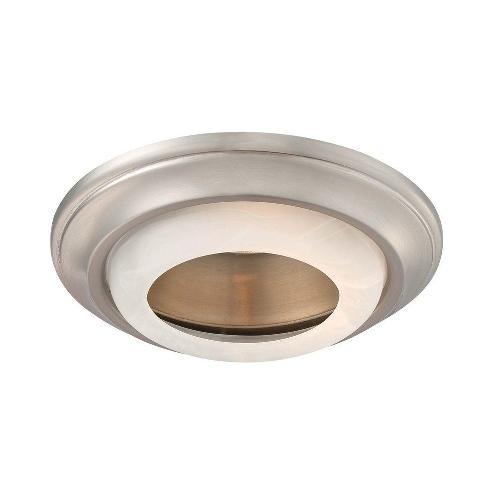 ... Recessed Light Trim 2718-84. Hover or Click to Zoom  sc 1 st  Destination Lighting & Minka Lighting 6-Inch Brushed Nickel Recessed Light Trim | 2718-84 ...