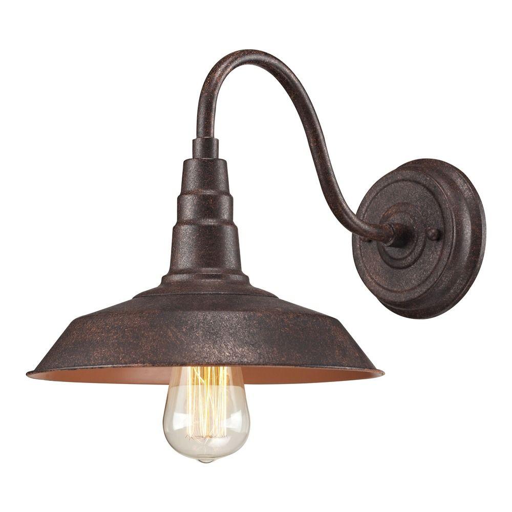 Elk Lighting Sconce: Elk Lighting Urban Lodge Weathered Bronze Sconce