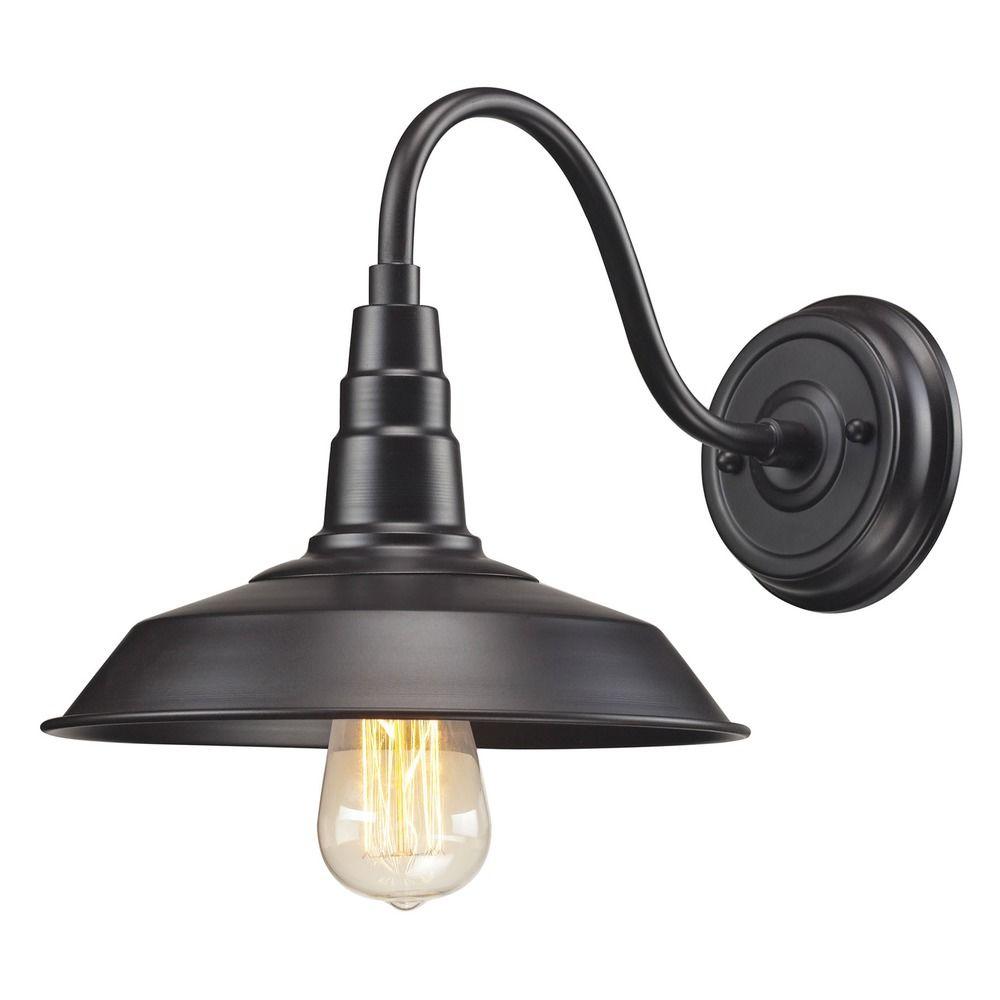 Elk Lighting Sconce: Elk Lighting Urban Lodge Oil Rubbed Bronze Sconce
