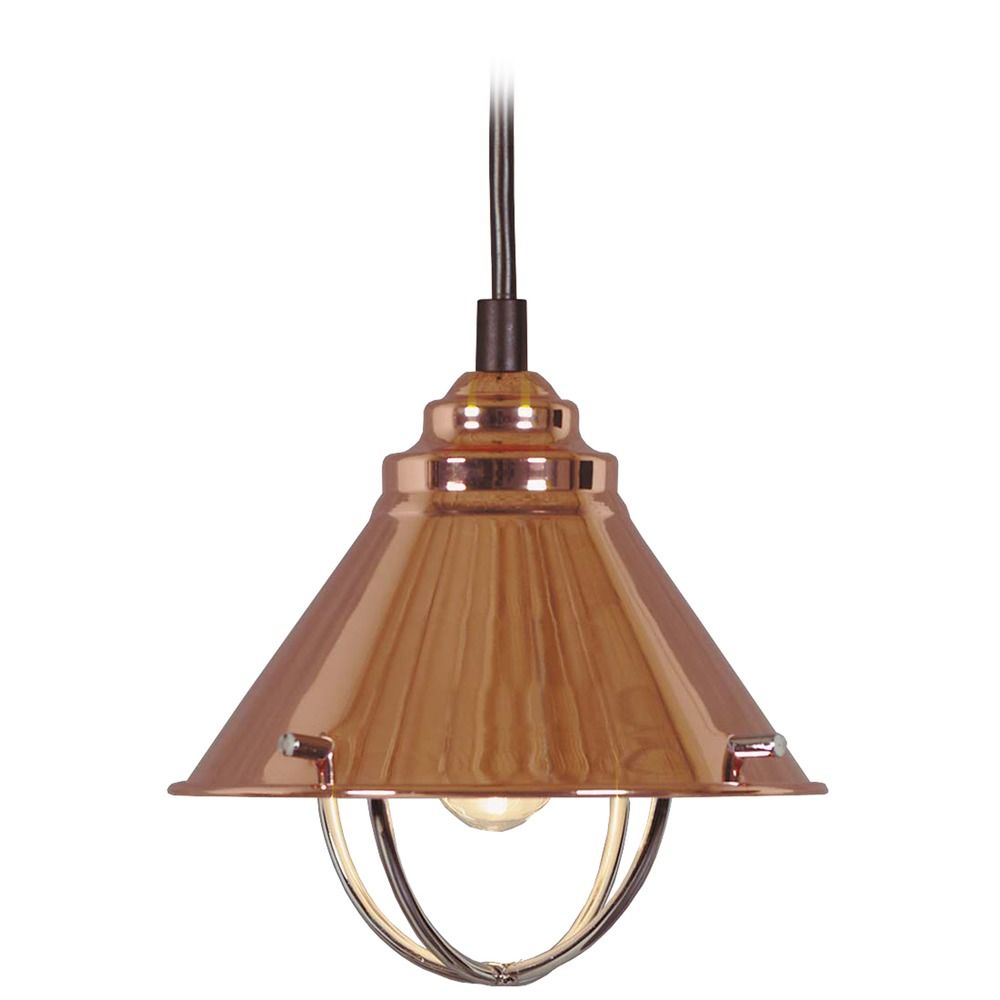 Harbour Copper LED Mini-Pendant Light by Kenroy Home | 66342COP-LED ...