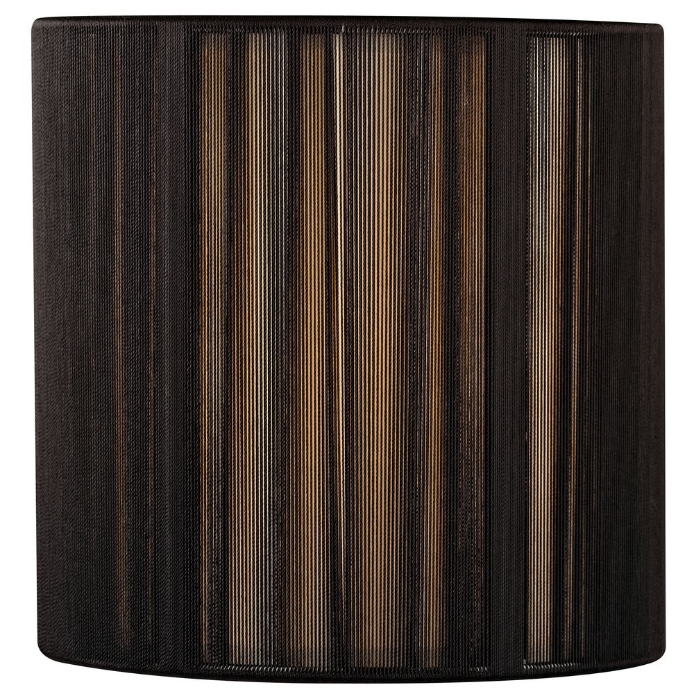 Charmant Design Classics Lighting Black String Drum Lamp Shade With Uno Assembly  SH9531