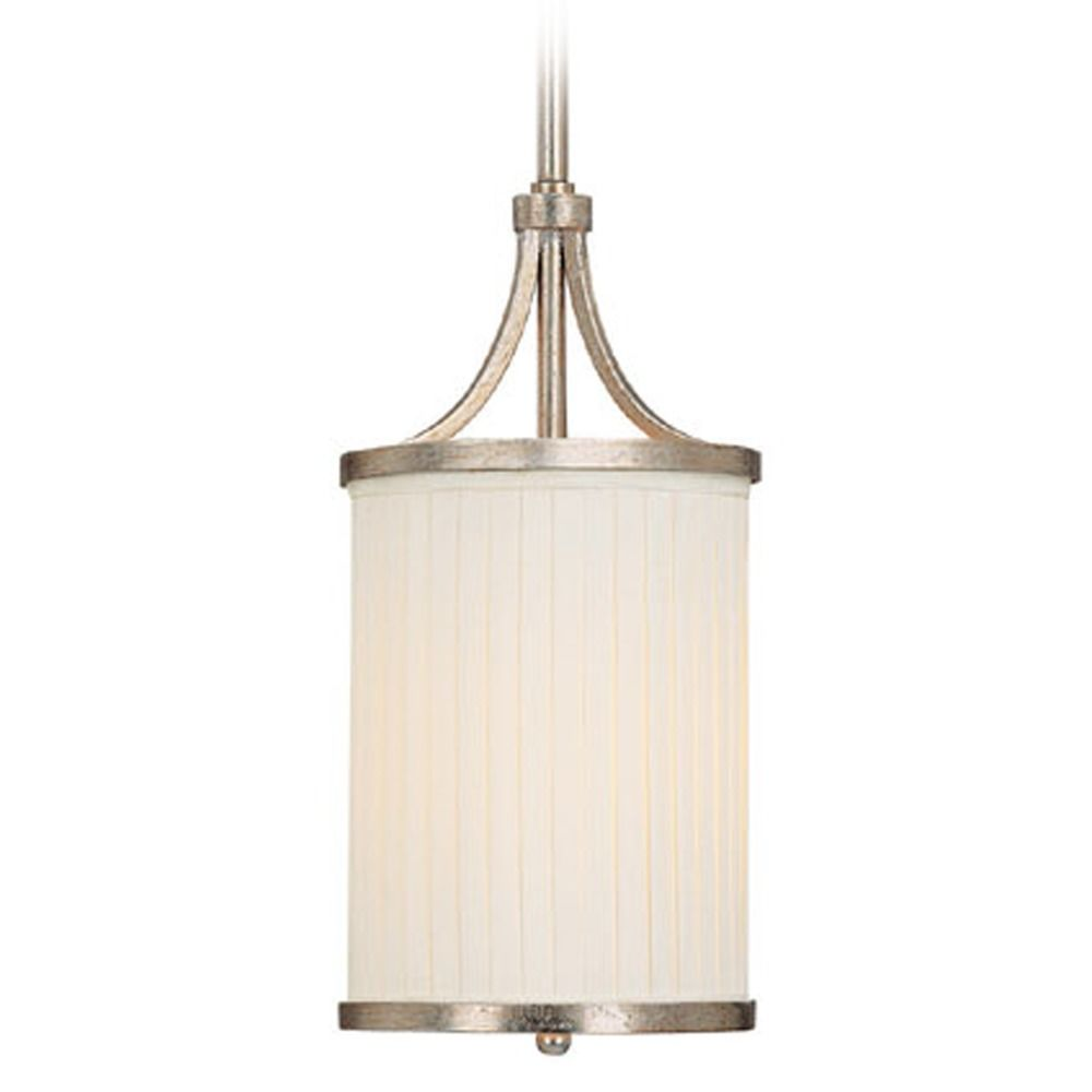 Capital Lighting Fifth Avenue Winter Gold Mini Pendant Light With Cylindrical Shade At Destination