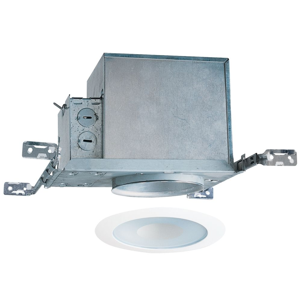 4 Inch Recessed Lighting Kit With Lensed Shower Trim IC1