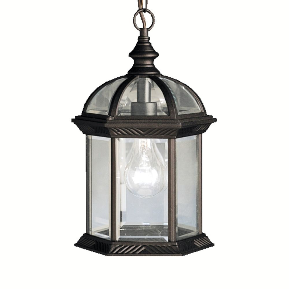 Kichler Lighting Barrie Black LED Outdoor Hanging Light 9835BKL16 Destina