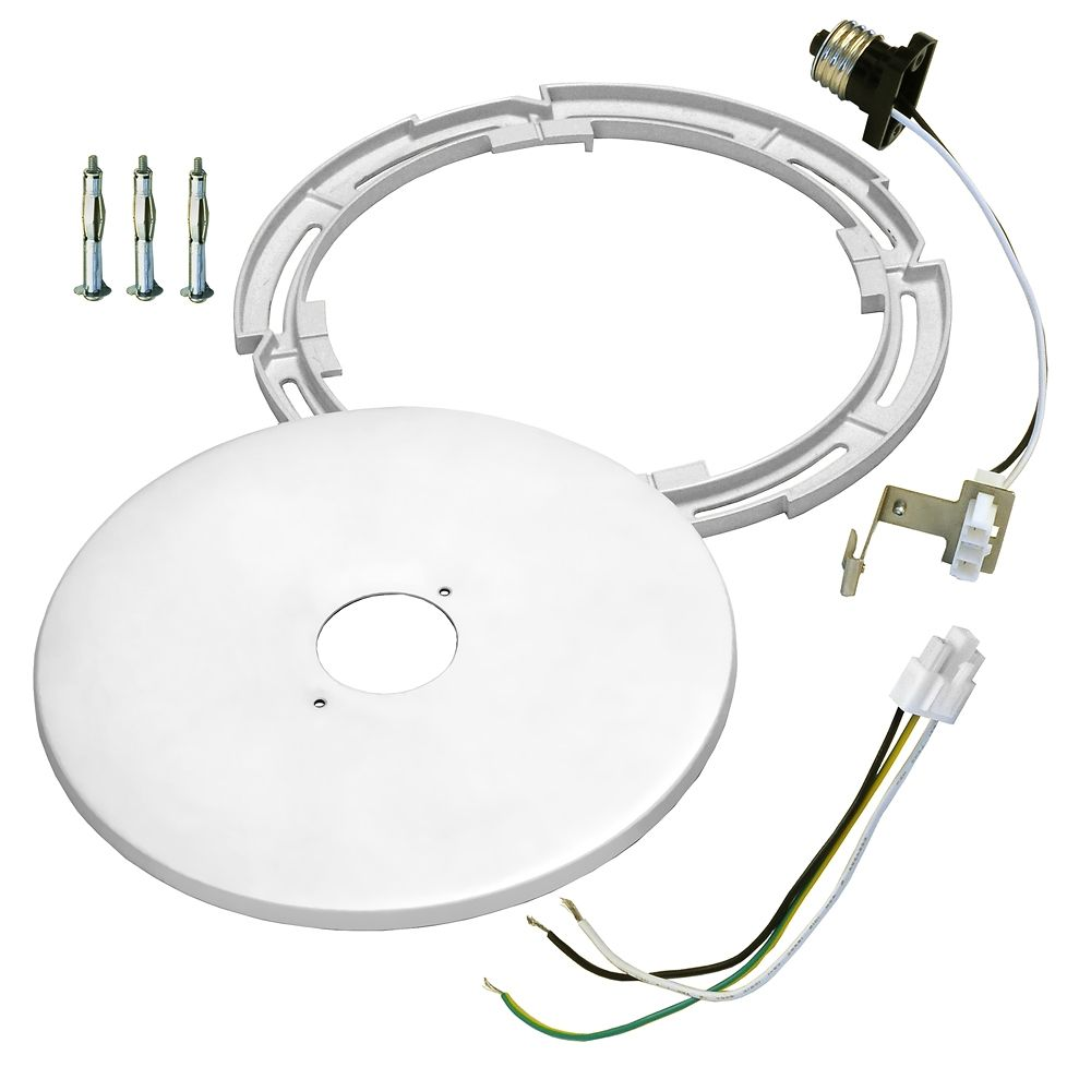 Recessed Lighting Conversion To Track : Recessed light converter kit for to inch
