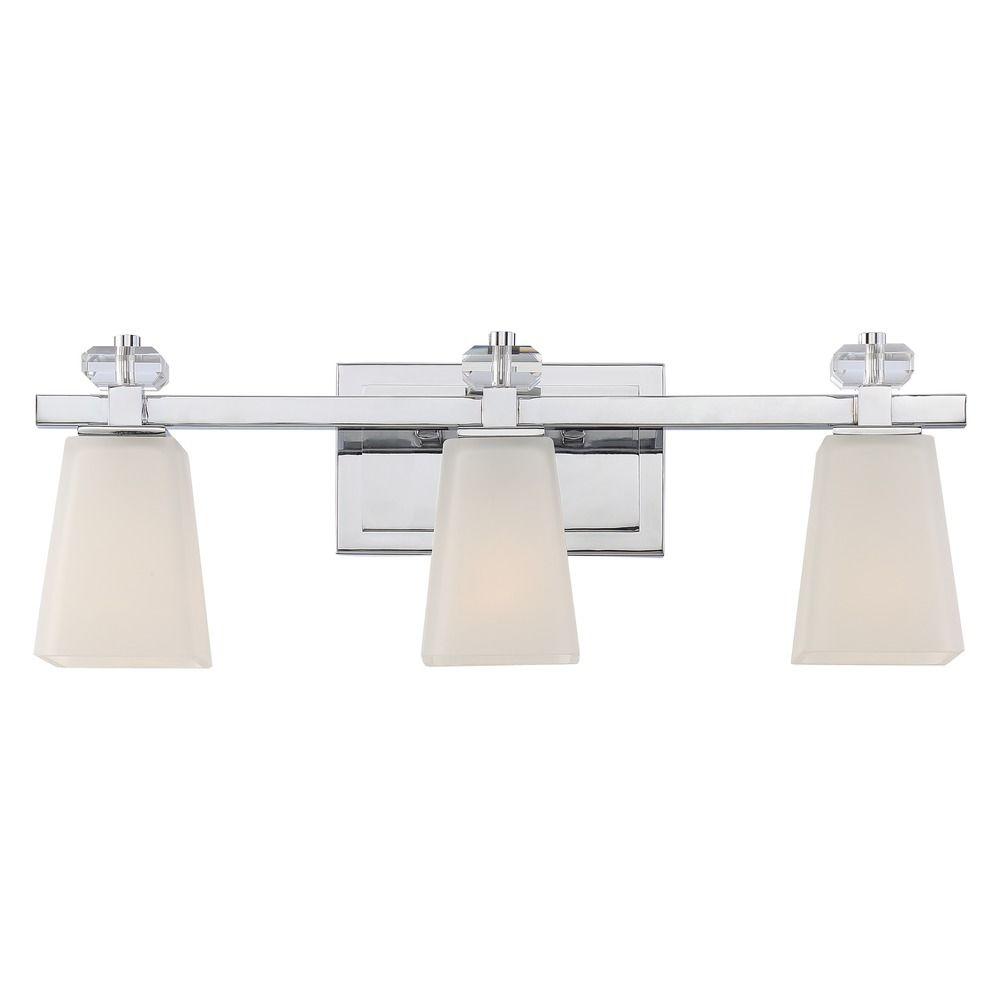 Quoizel Lighting Supreme Polished Chrome Bathroom Light Spr8603c Destination Lighting
