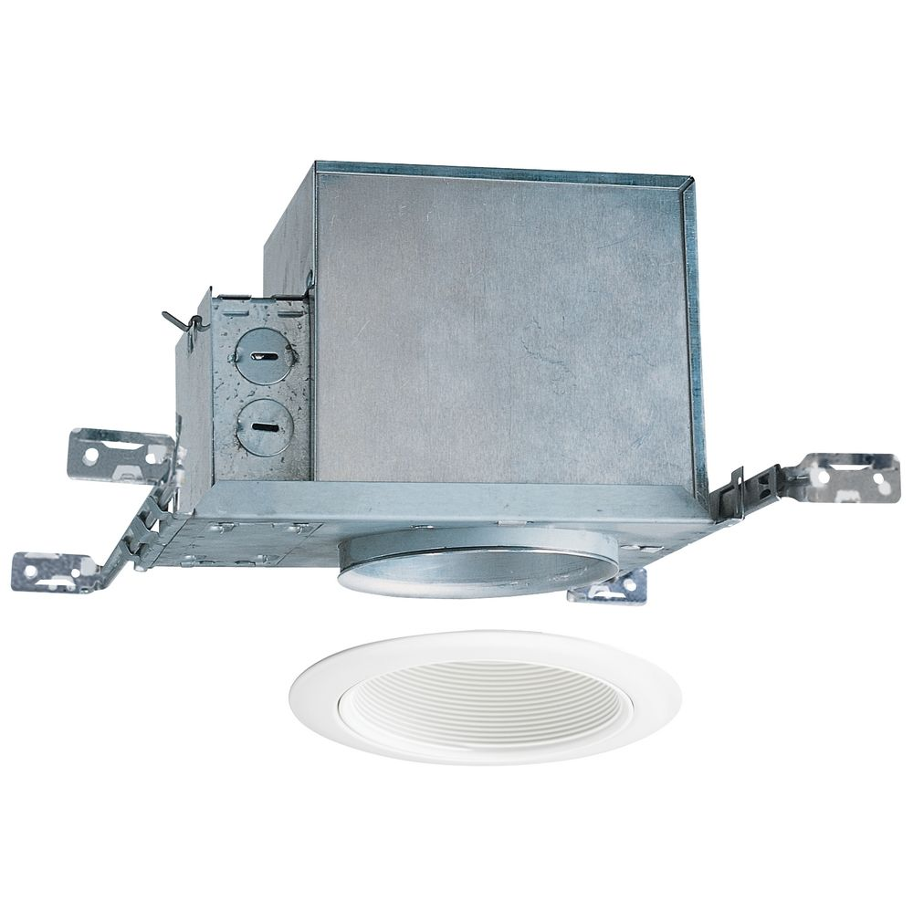 4 Inch Recessed Lighting Kit With White Trim At Destination
