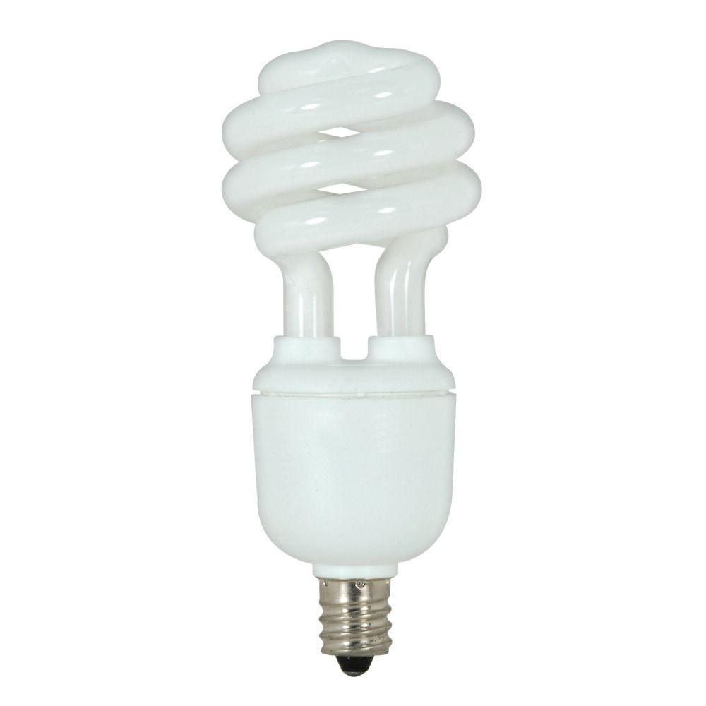 9 Watt Candelabra Base Compact Fluorescent Light Bulb S7361 Destination Lighting