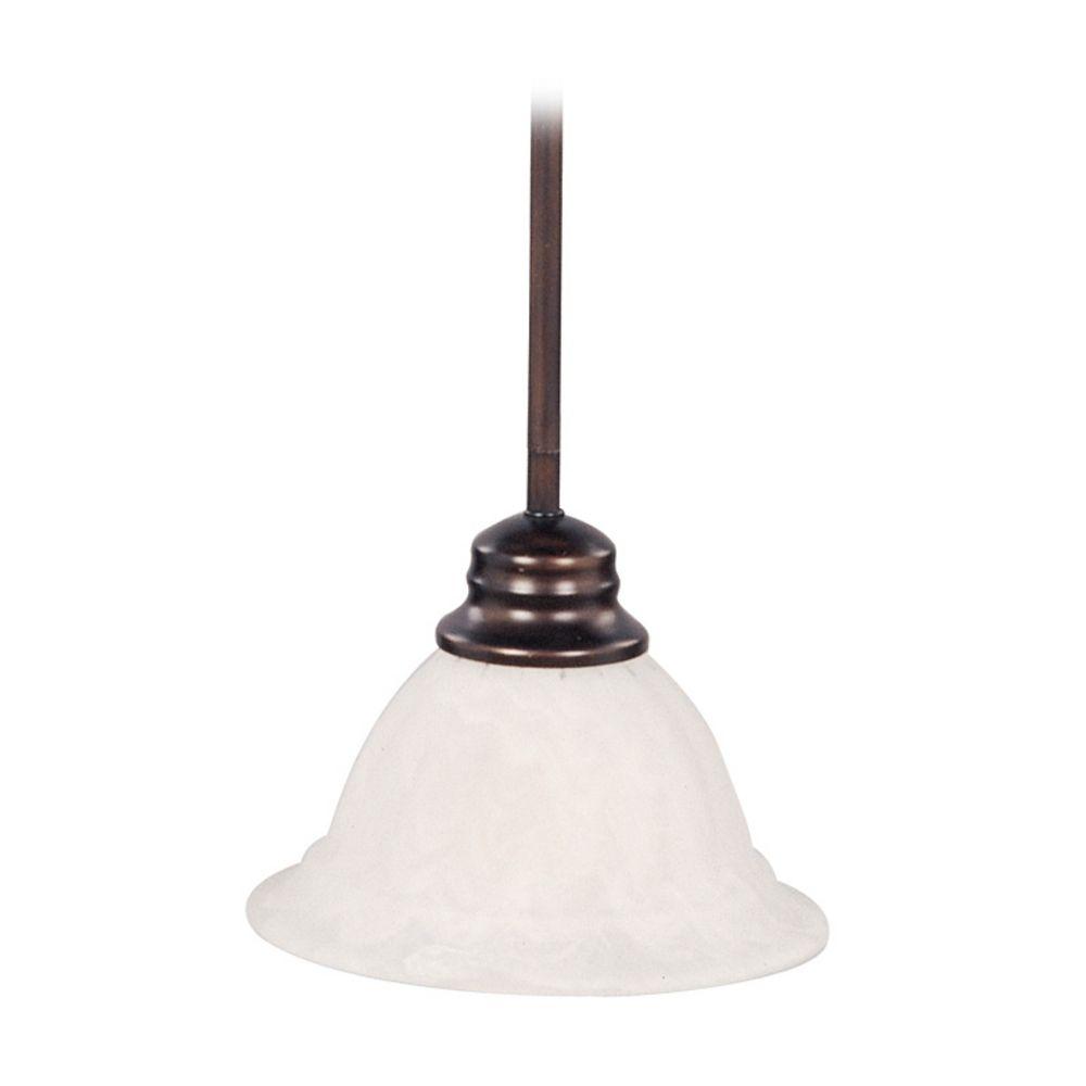 Mini Pendant Light With White Glass 91066mroi