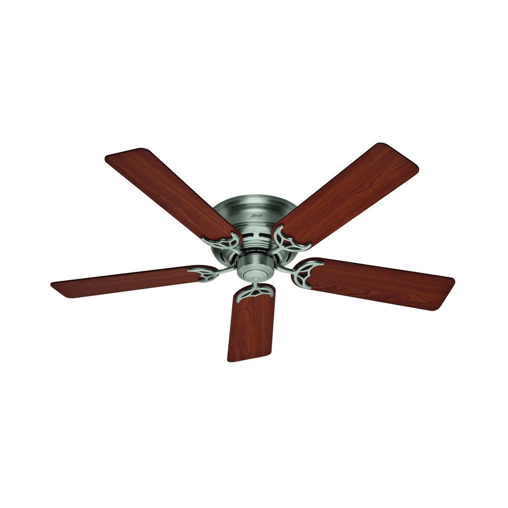52-Inch Hunter Fan Low Profile III Antique Pewter Ceiling