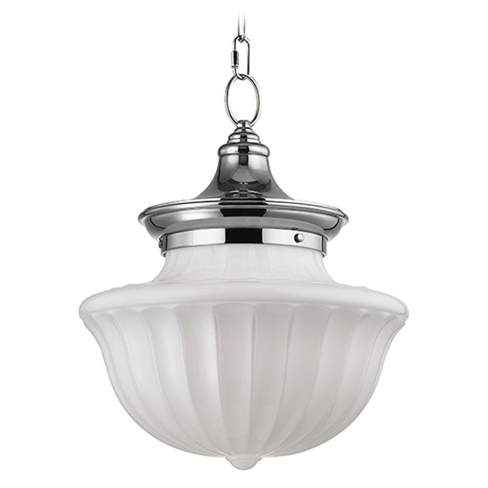 Hudson Valley Lighting Dutchess: Dutchess 2 Light Pendant Light - Polished Nickel