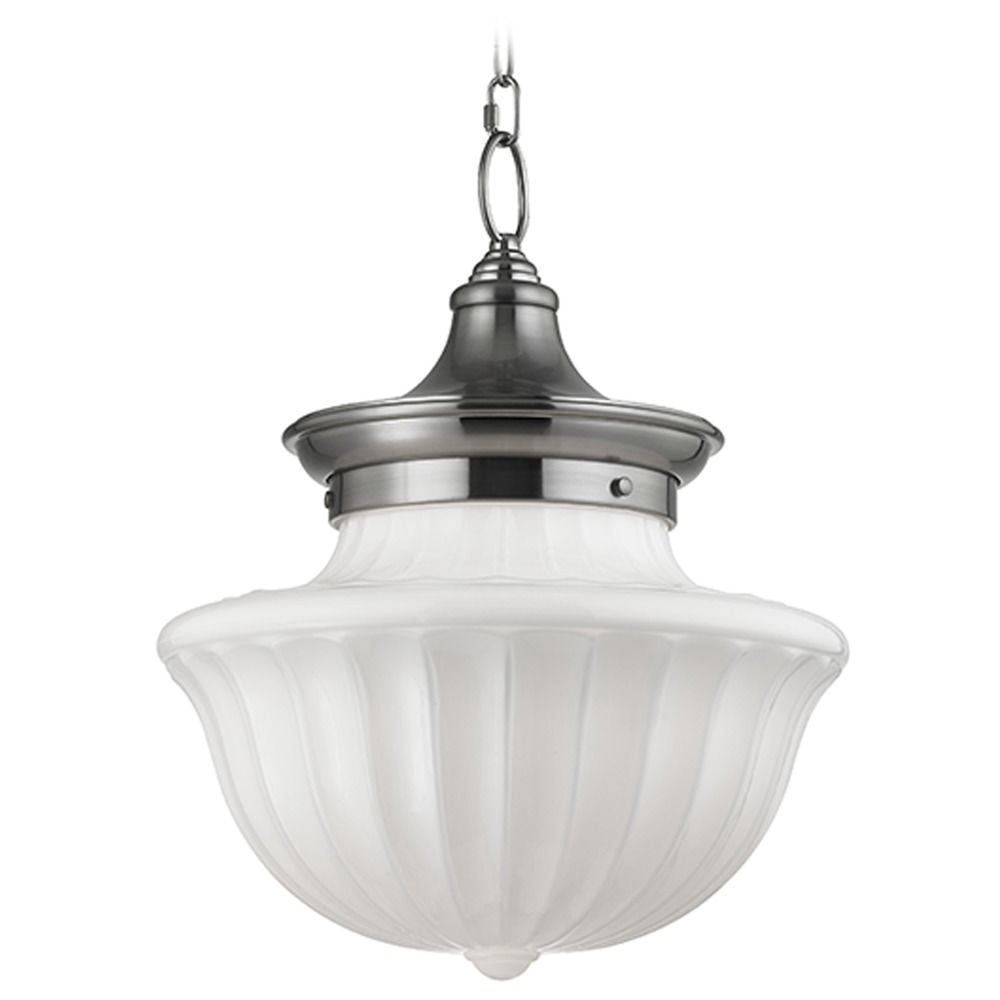 Hudson Valley Lighting Dutchess: Dutchess 2 Light Pendant Light - Satin Nickel