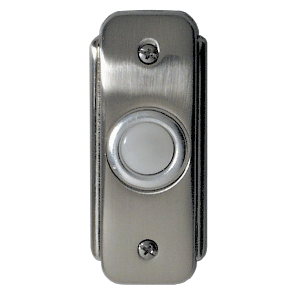 Charmant Craftmade Lighting Recessed Lighted Doorbell Button BR2 PW
