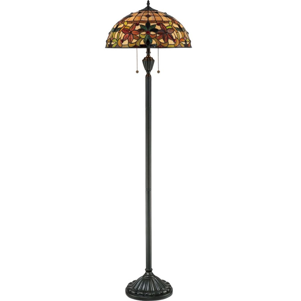 Art Nouveau Tiffany Floor Lamp Tf878f Destination Lighting