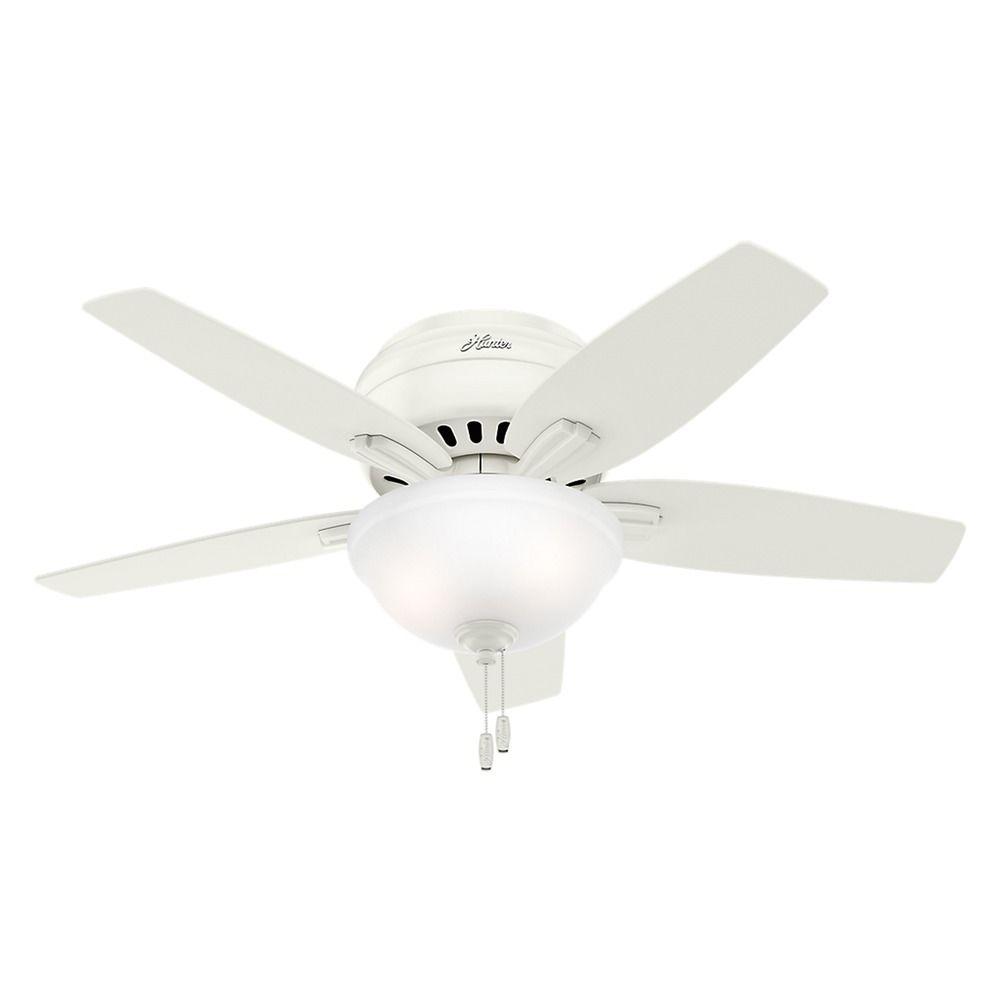 42 Inch Hunter Fan Newsome Ceiling Fan With Light
