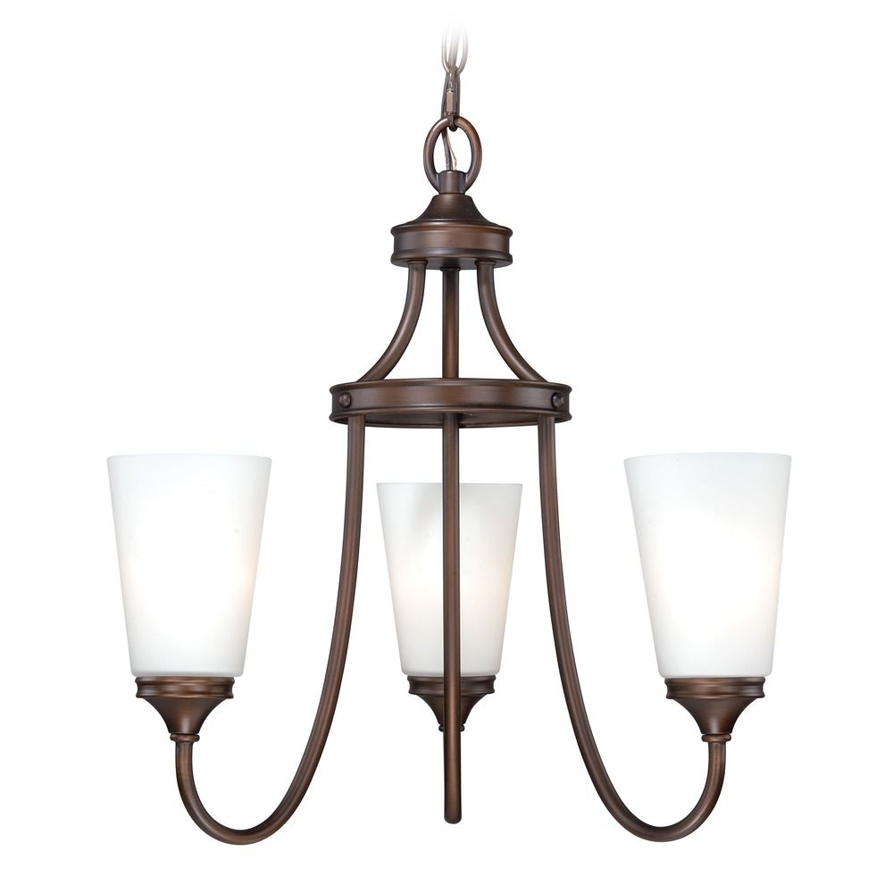 Venetian Bronze Chandelier: Lorimer Venetian Bronze Mini-Chandelier By Vaxcel Lighting