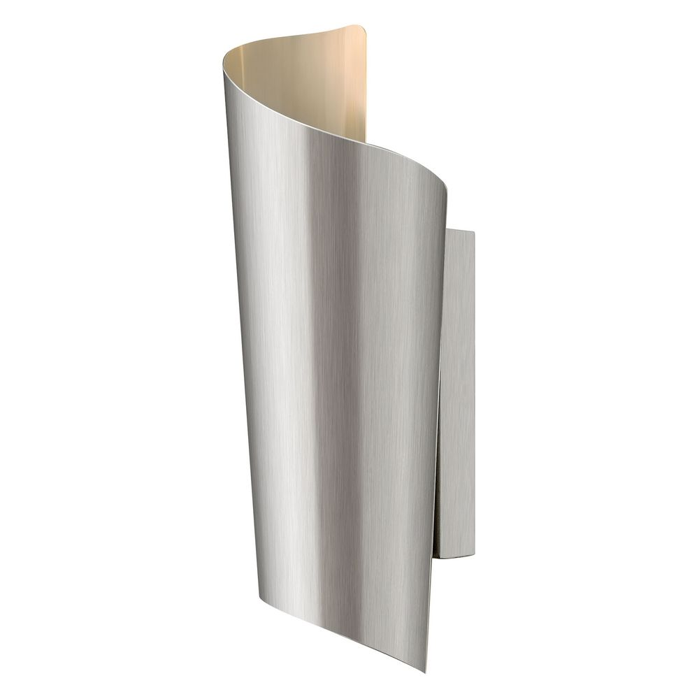 hinkley lighting modern led outdoor wall light in stainless steel