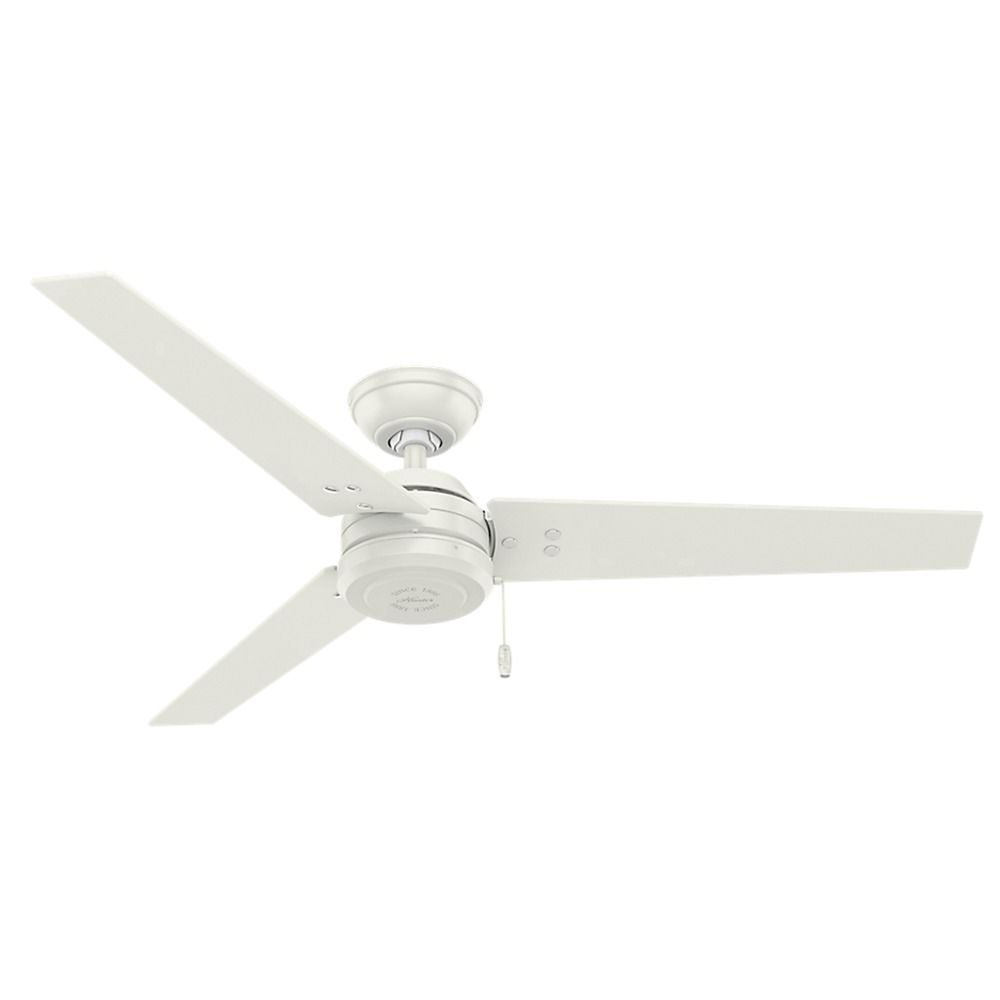 Hunter fan company cassius fresh white ceiling fan without light product image aloadofball Images