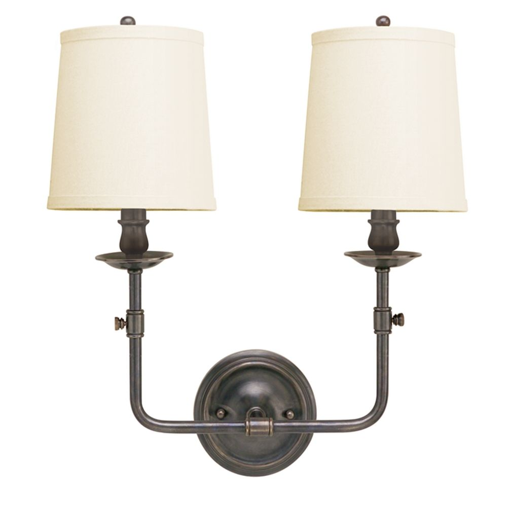 Wall Sconce With Switch Bronze : Old Bronze Wall Sconce with Two Lights 172-OB Destination Lighting