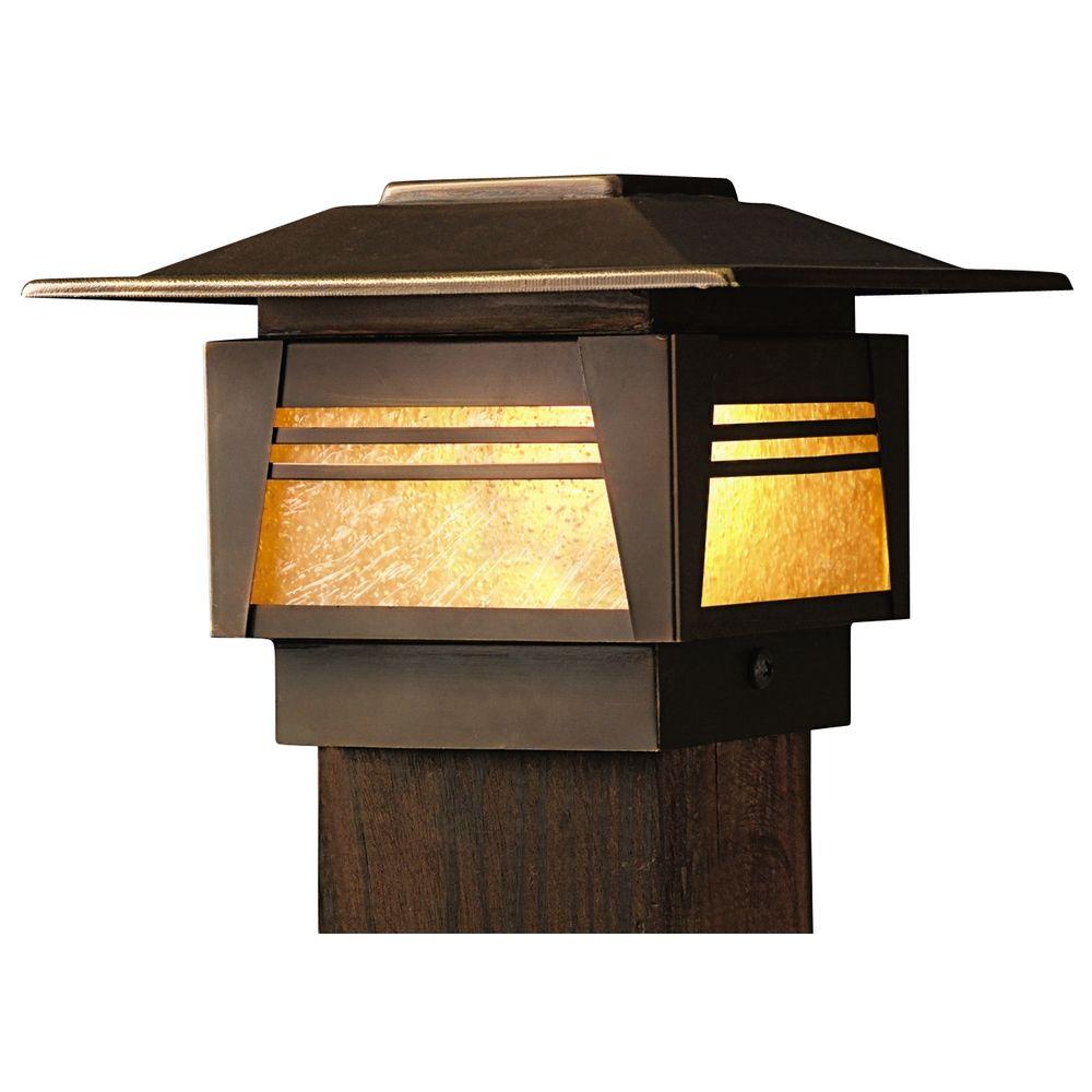 Kichler Low Voltage Post Deck Light At Destination Lighting