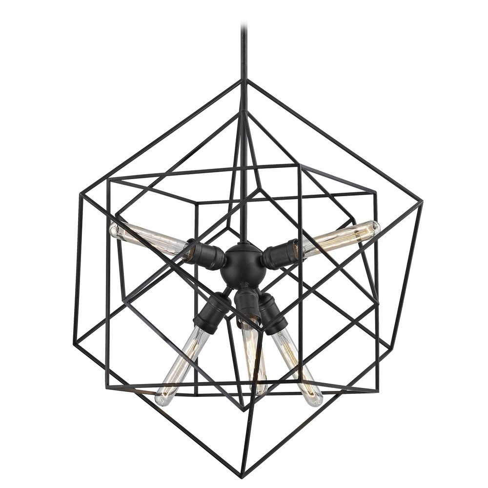 glass pixball l iron pendant com light chairish large geometric tenley