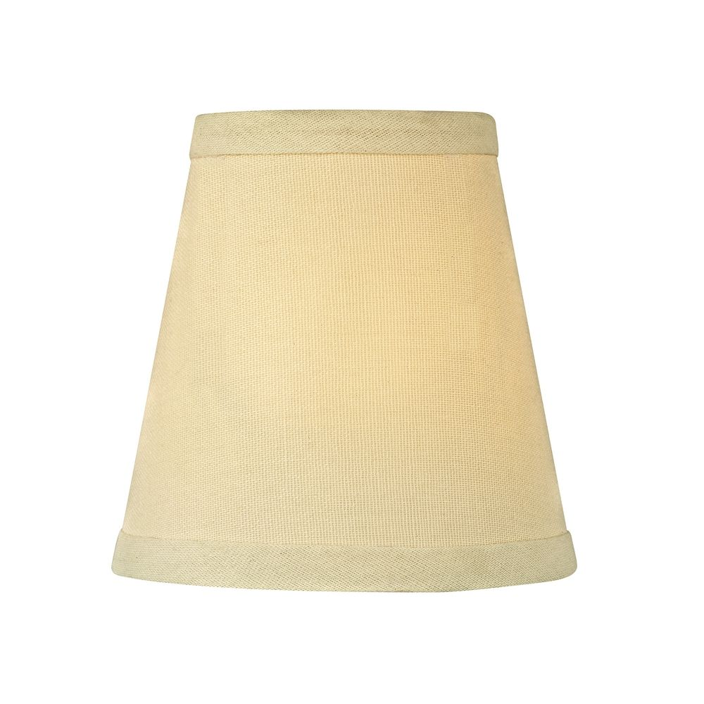 Lamp Shade Coloring Page Cream linen conical lamp shade
