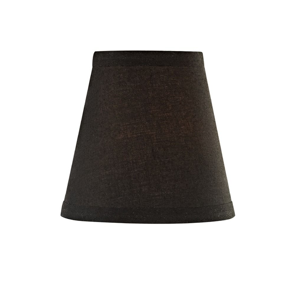 Black clip on lamp shade conical lamp shade destination lighting design classics lighting black conical lamp shade with clip on assembly sh9563 mozeypictures Choice Image