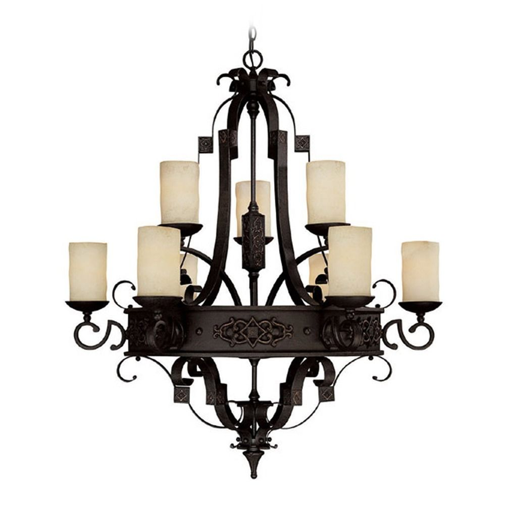 Capital Lighting TB Chastain 4LT Chandelier features a rich Tobacco finish in a slightly rustic design that will add chic country charm to your uptown decor.