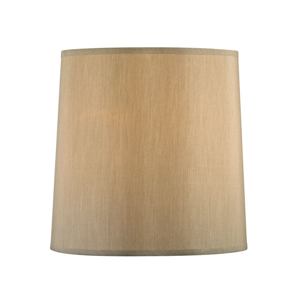 Beige Drum Lamp Shade with Spider Assembly | SH9570 | Destination ...