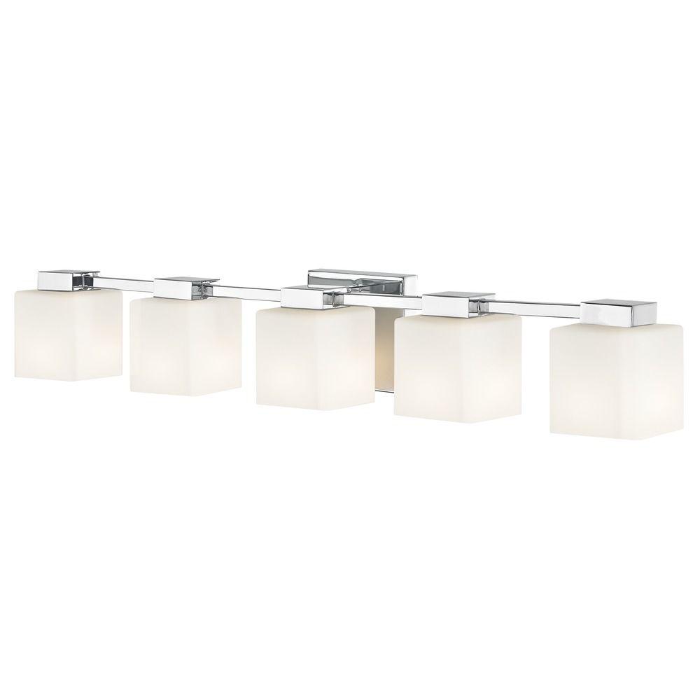 Design Clics Lighting Led Bathroom Light Square Gl Chrome 5lt 1935 26