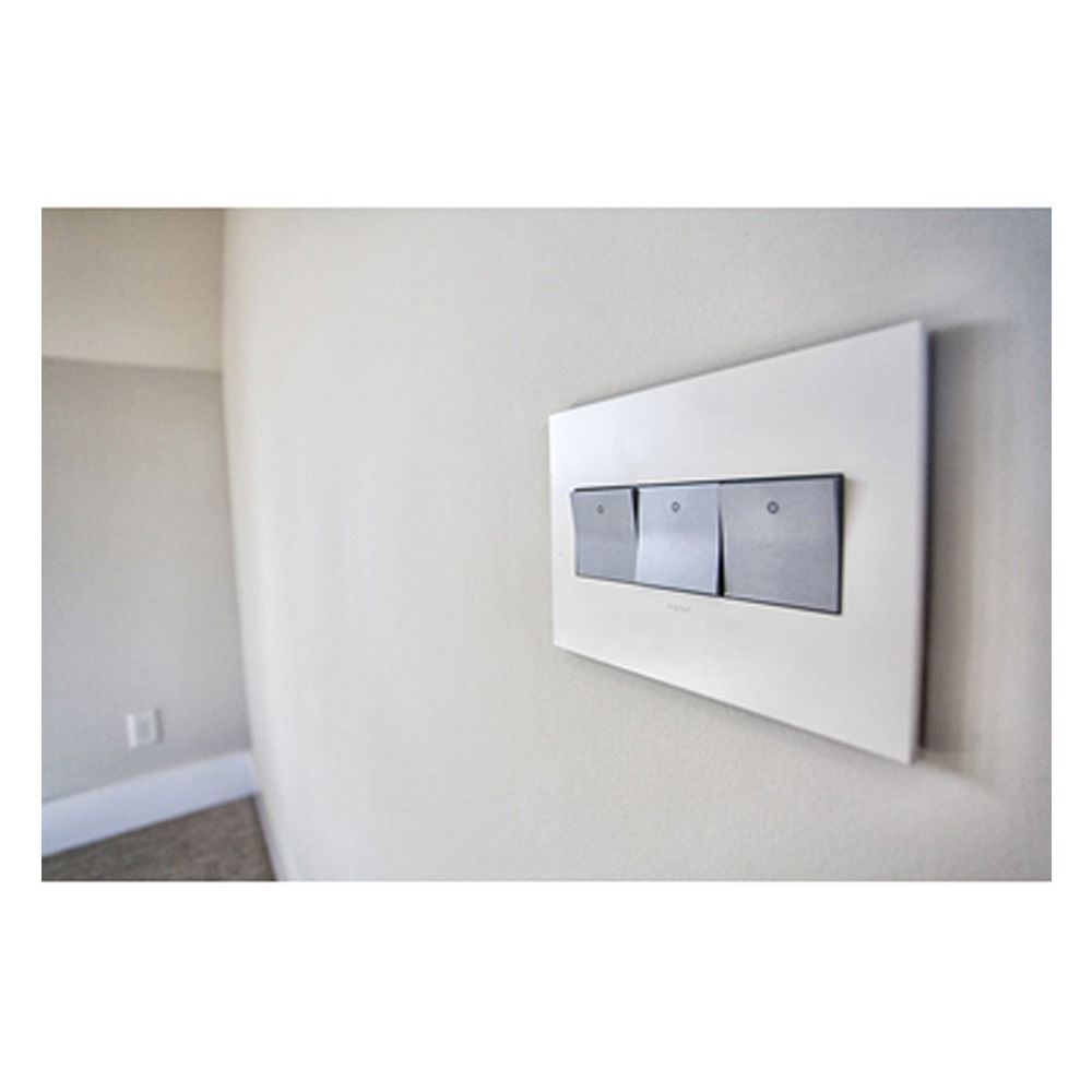 Rocker Switch Plate Entrancing Legrand Adorne Paddle Rocker Threeway Wall Light Switch Design Decoration