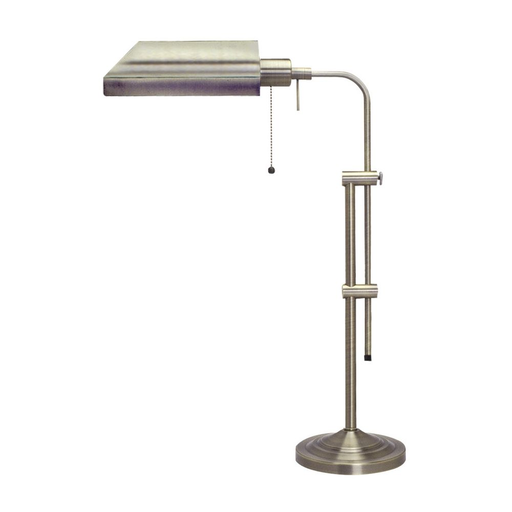 Delightful CAL Lighting Adjustable Pharmacy Table Lamp BO 117TB BS