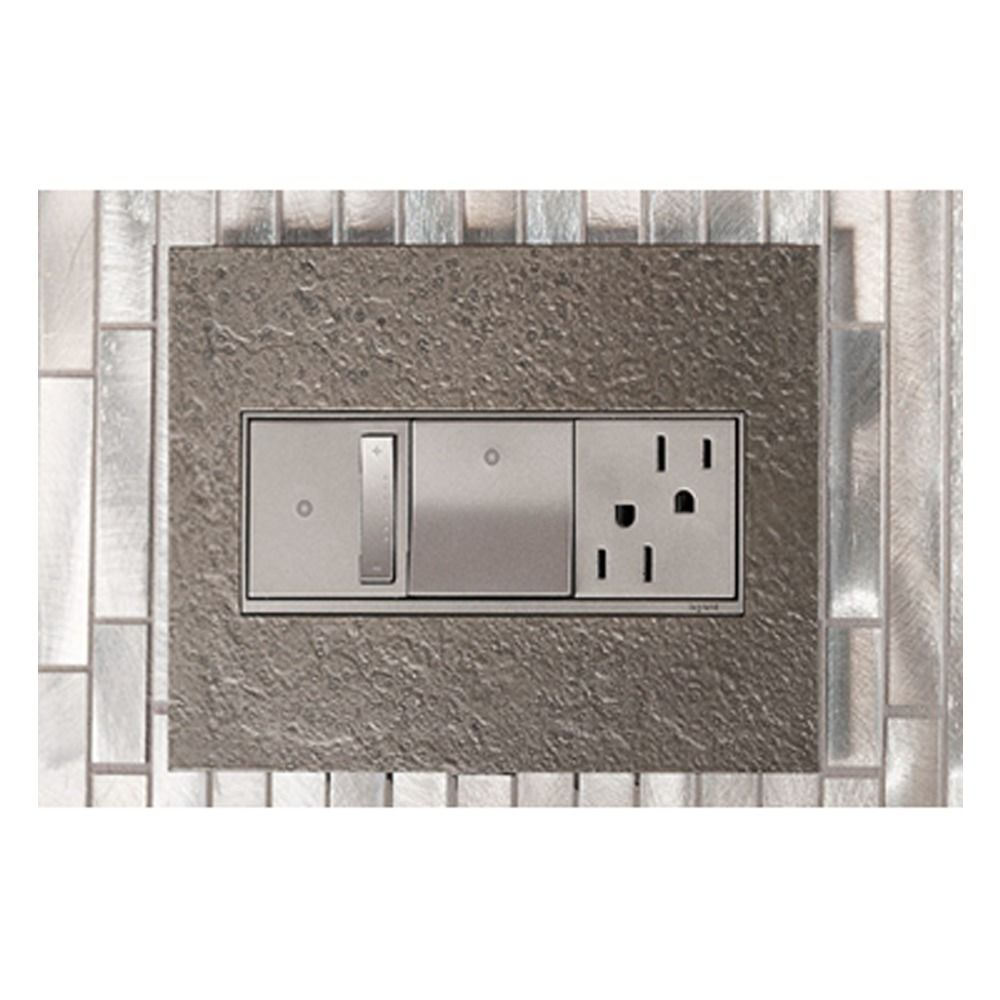 Legrand Adorne Artr152m4 Wall Outlet In Magnesium Finish Tamper Resistant Artr152m4 Destination Lighting